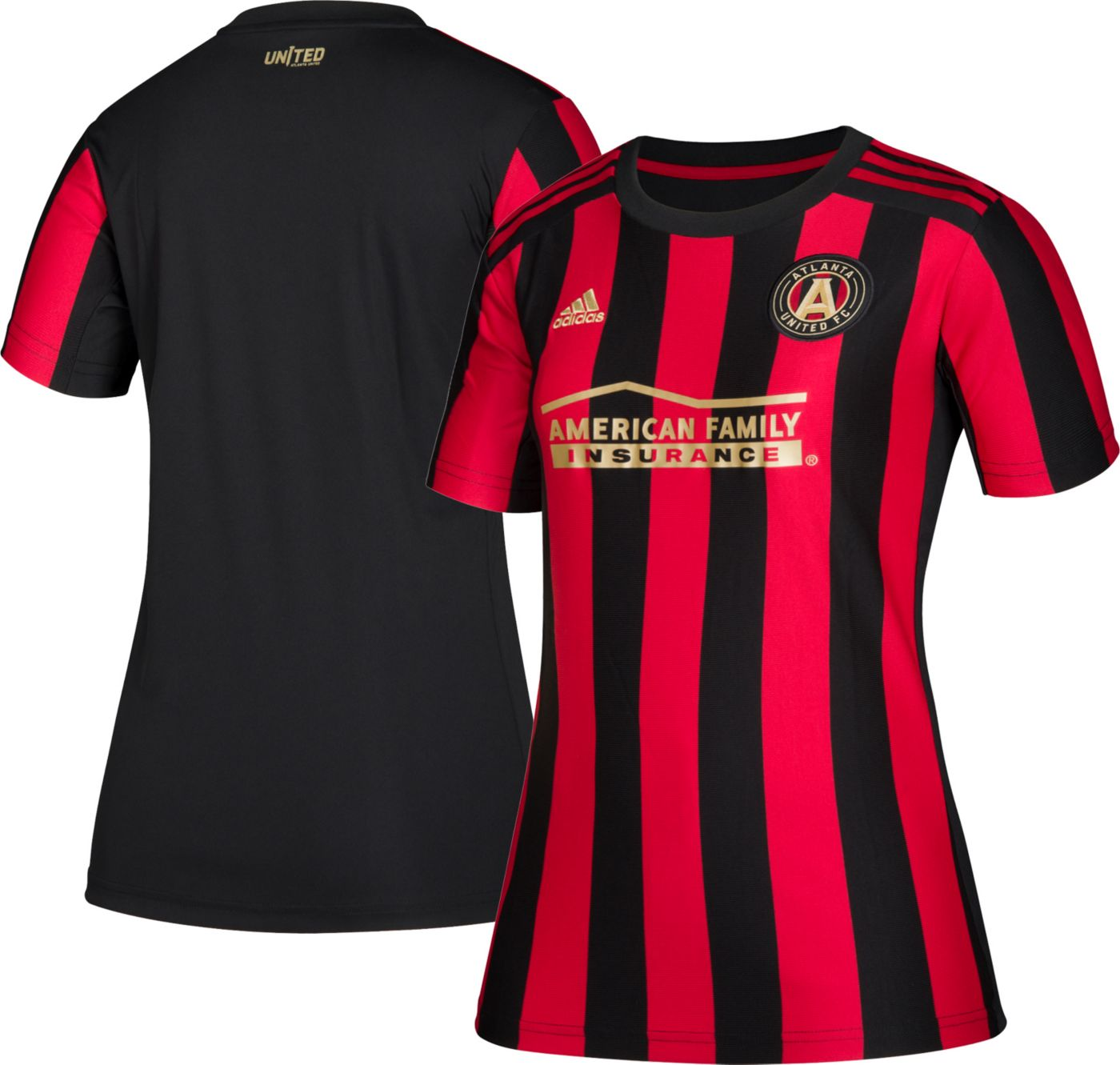 adidas Women's Atlanta United Primary Replica Jersey