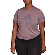 adidas Women's Plus Badge Of Sport Cotton T-Shirt