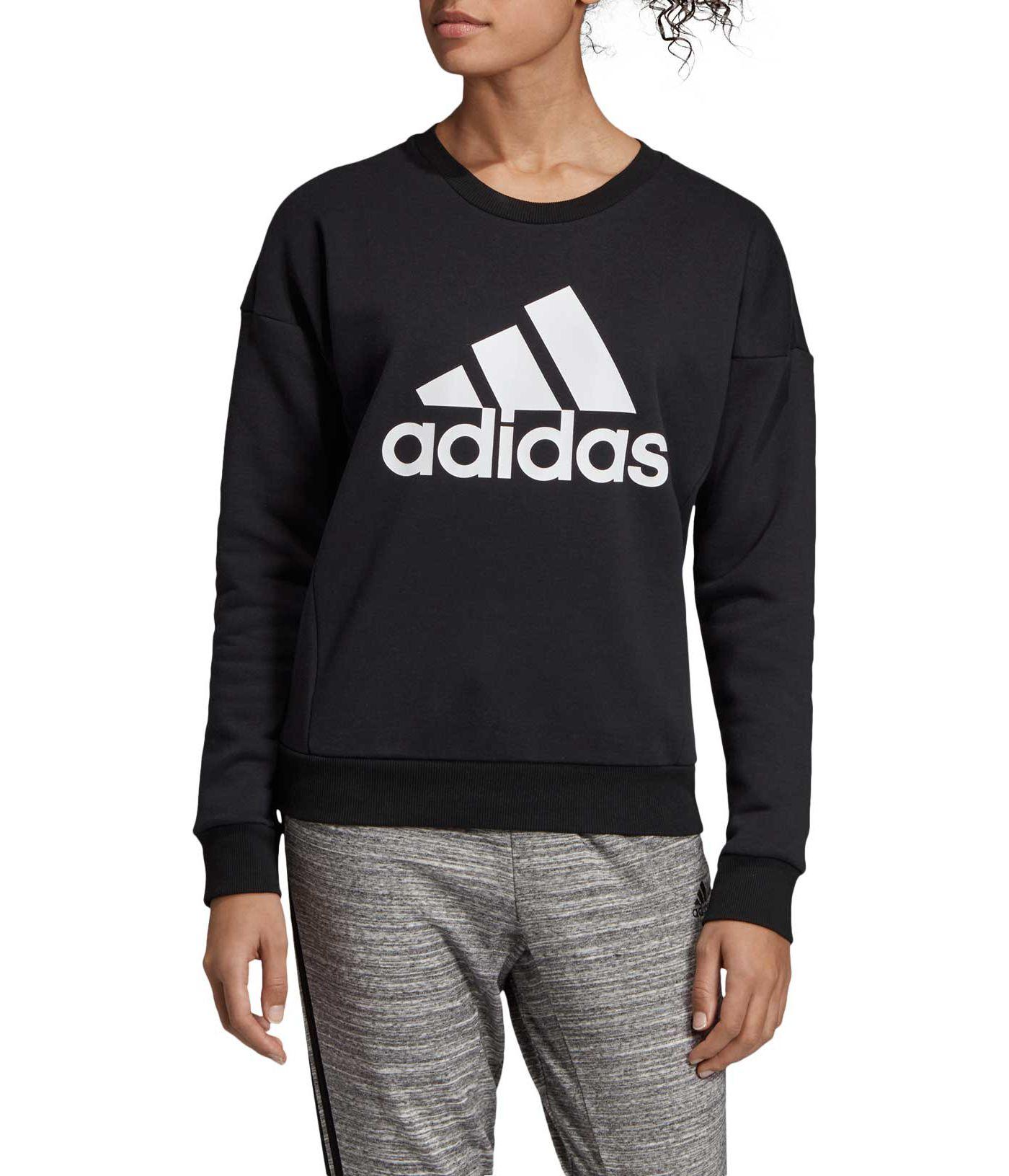 adidas Women's Must Haves Badge Of Sport Crew Neck Sweatshirt
