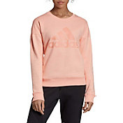 adidas Women's Must Haves Badge Of Sport Crew Neck Sweatshirt