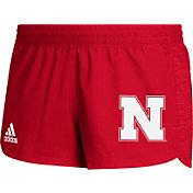 adidas Women's Nebraska Cornhuskers Scarlet Game Mode Training Shorts
