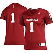 adidas Women's Indiana Hoosiers #1 Crimson Replica Football Jersey