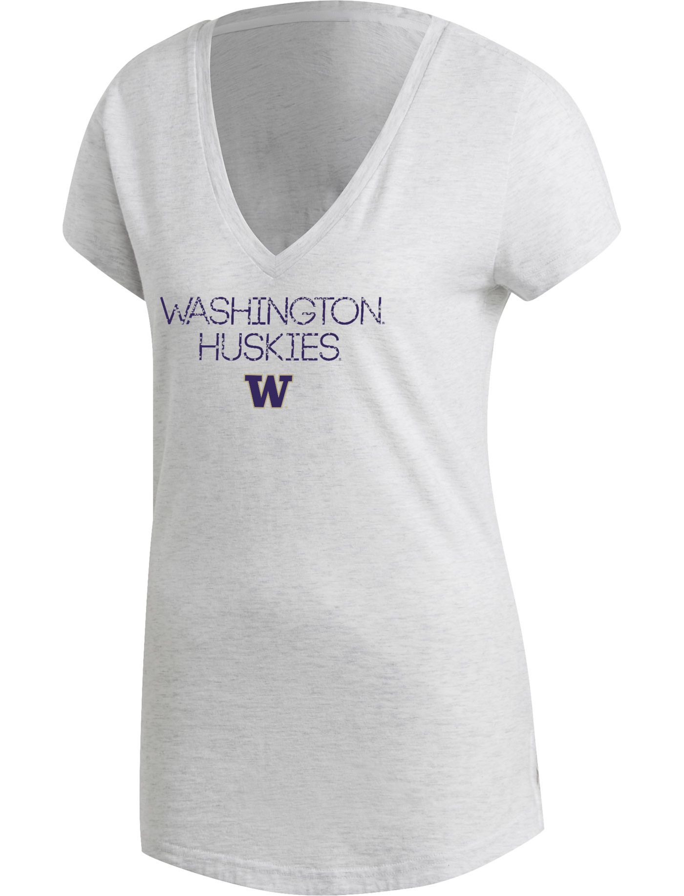 adidas Women's Washington Huskies Grey Stadium ID Winners T-Shirt