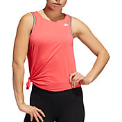 adidas Women's Cropped Tie Tank Top