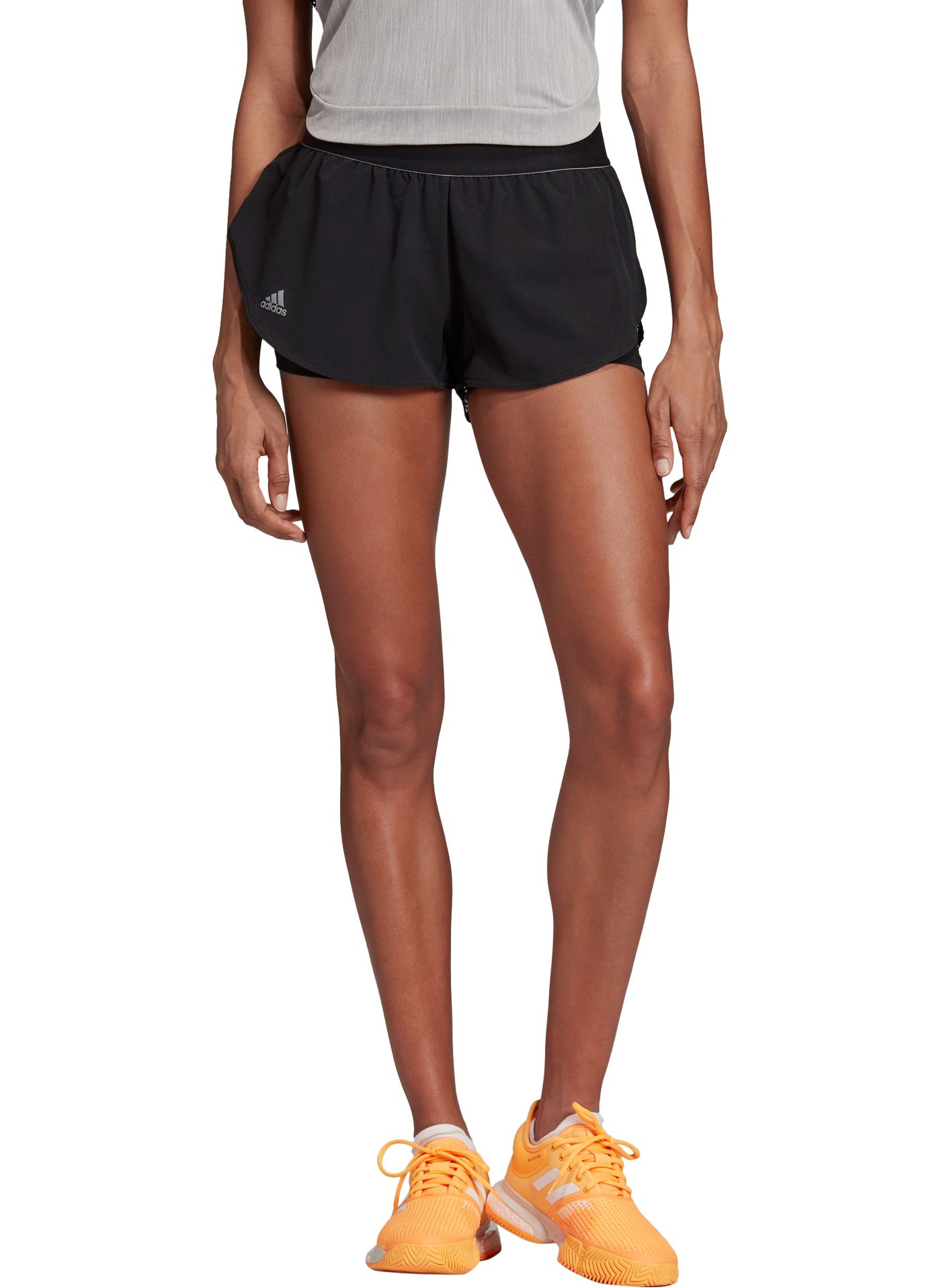 adidas Women's New York Perforated Tennis Shorts