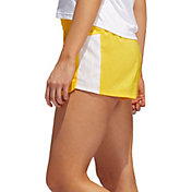 adidas Women's Pacer 3-Stripes Woven Perforated Shorts