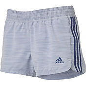 adidas Women's Pacer 3 Stripe Woven Shorts