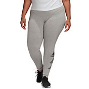 adidas Women's Plus Size Must Haves Stacked Logo Tights