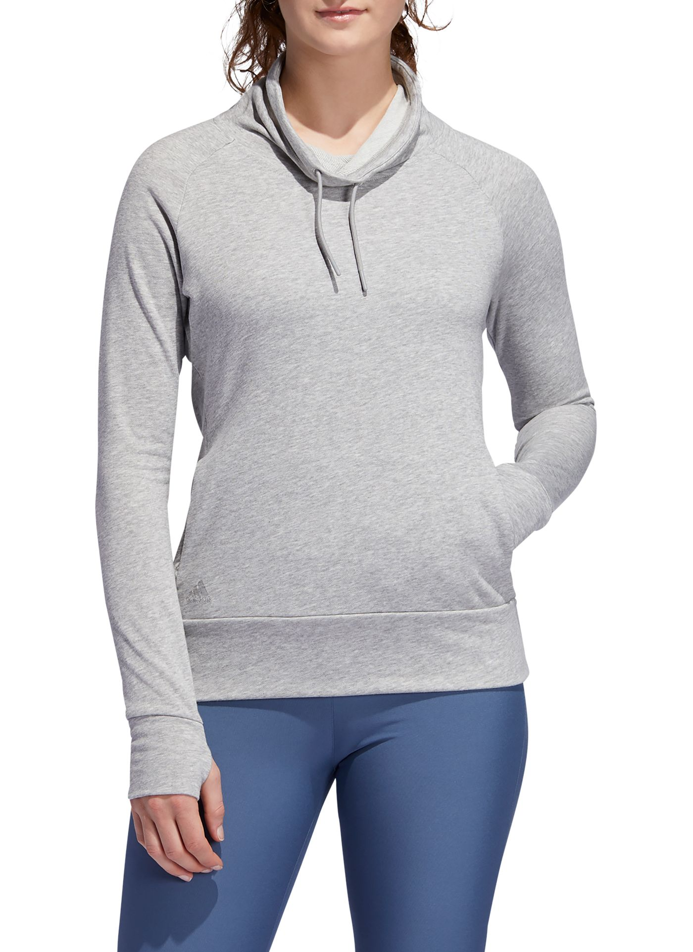 adidas Women's Cowl Neck Golf Sweatshirt