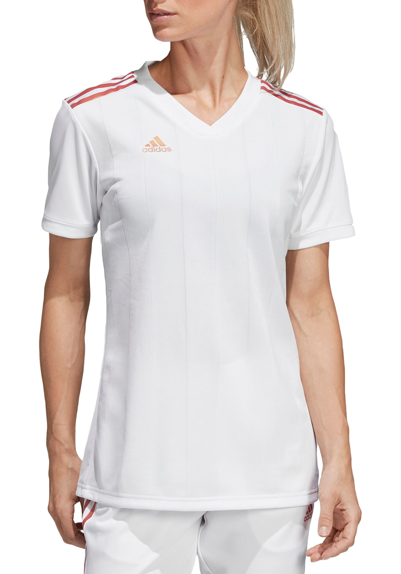 adidas Women's Pearl Tiro Soccer Jersey
