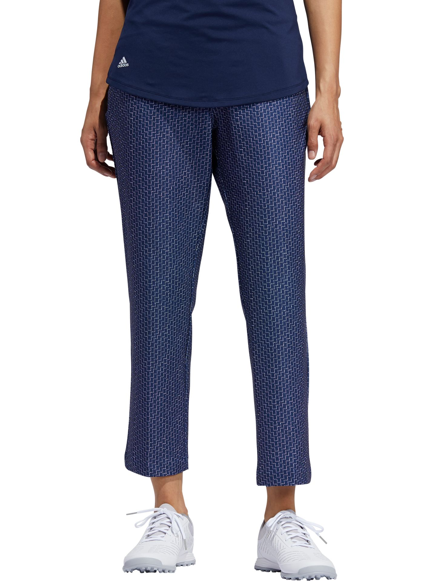 adidas Women's Printed Cropped Golf Pants