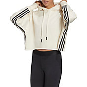 adidas Women's Recycled Cotton Crop Hoodie