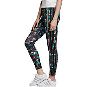 adidas Originals Women's Bellista Floral 3-Stripe Leggings