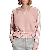 adidas Originals Women's Bellista Cinched Crewneck Sweatshirt
