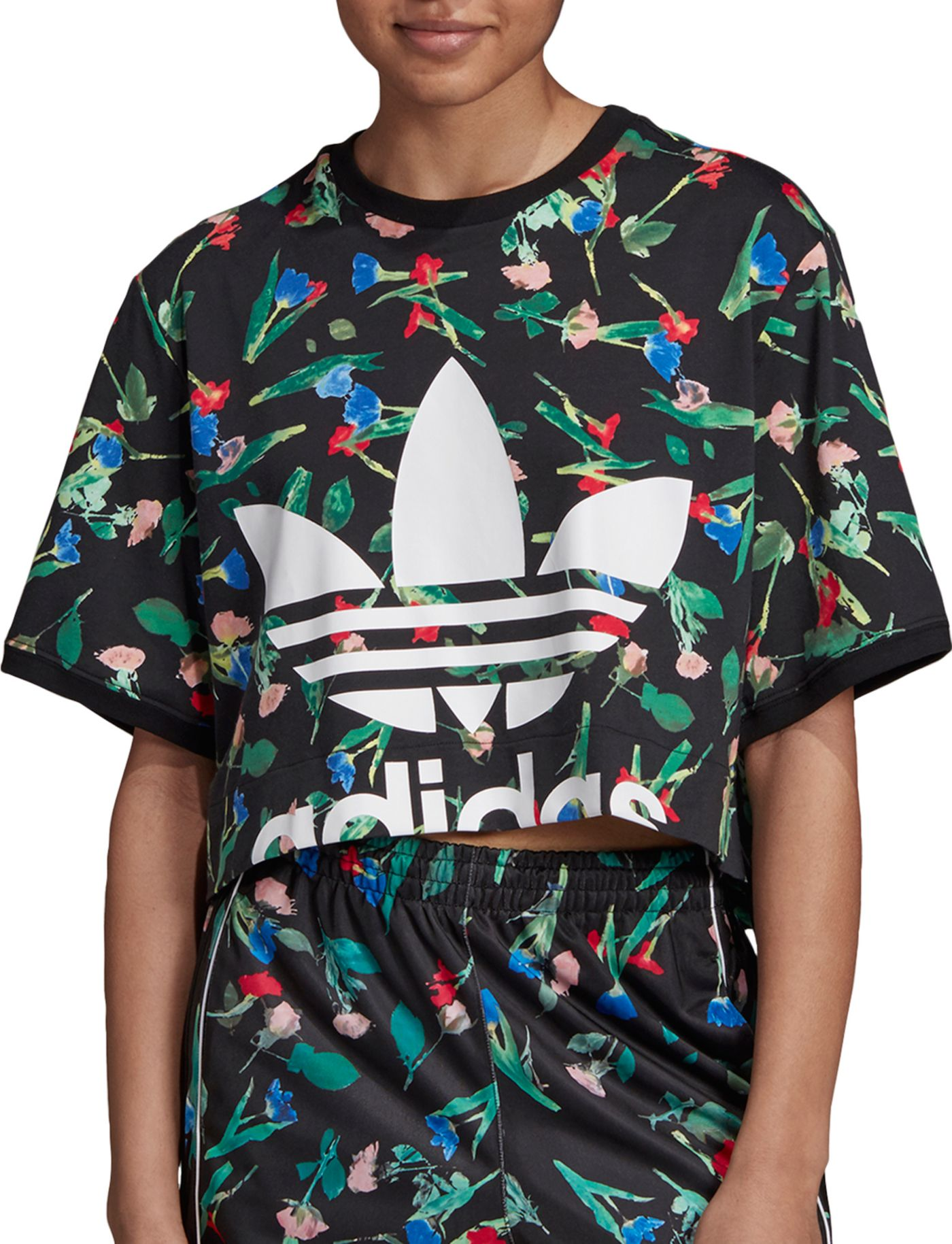 adidas Originals Women's Bellista Crop T-Shirt