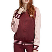 adidas Originals Women's Bellista Satin Bomber Jacket