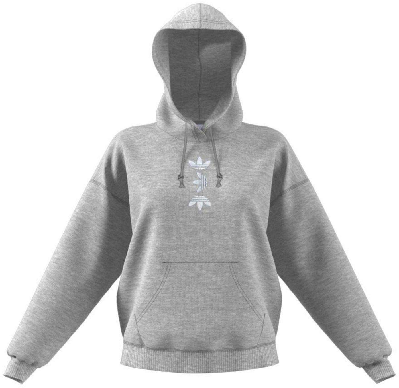 adidas Originals Women's Large Logo Fleece Hoodie