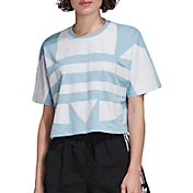 adidas Originals Women's Large Logo Cropped T-Shirt