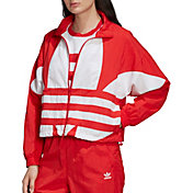 adidas Originals Women's Large Logo Woven Track Jacket