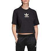 adidas Women's Metallic Trefoil T-Shirt