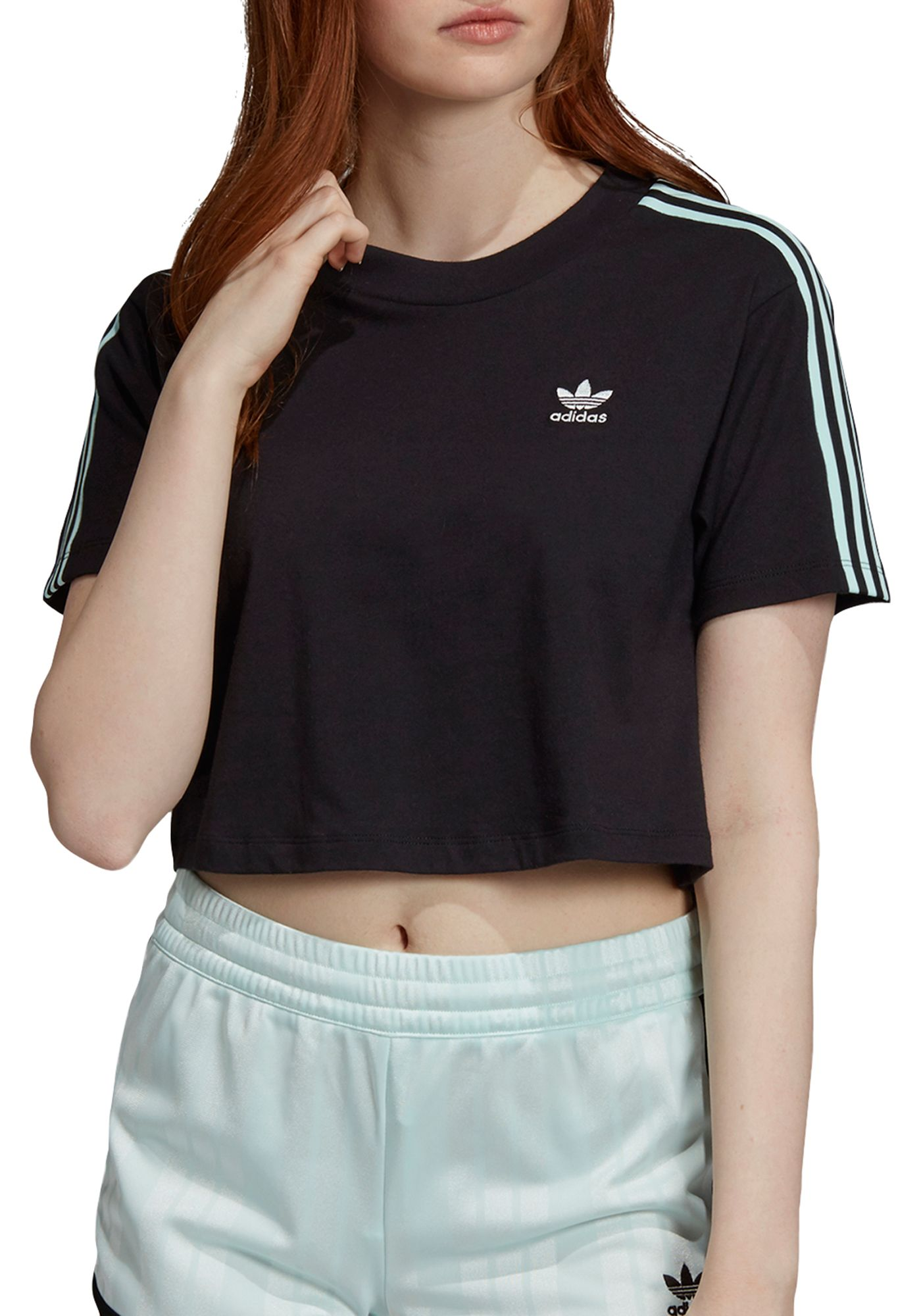 adidas Originals Women's 70's Cropped T-Shirt