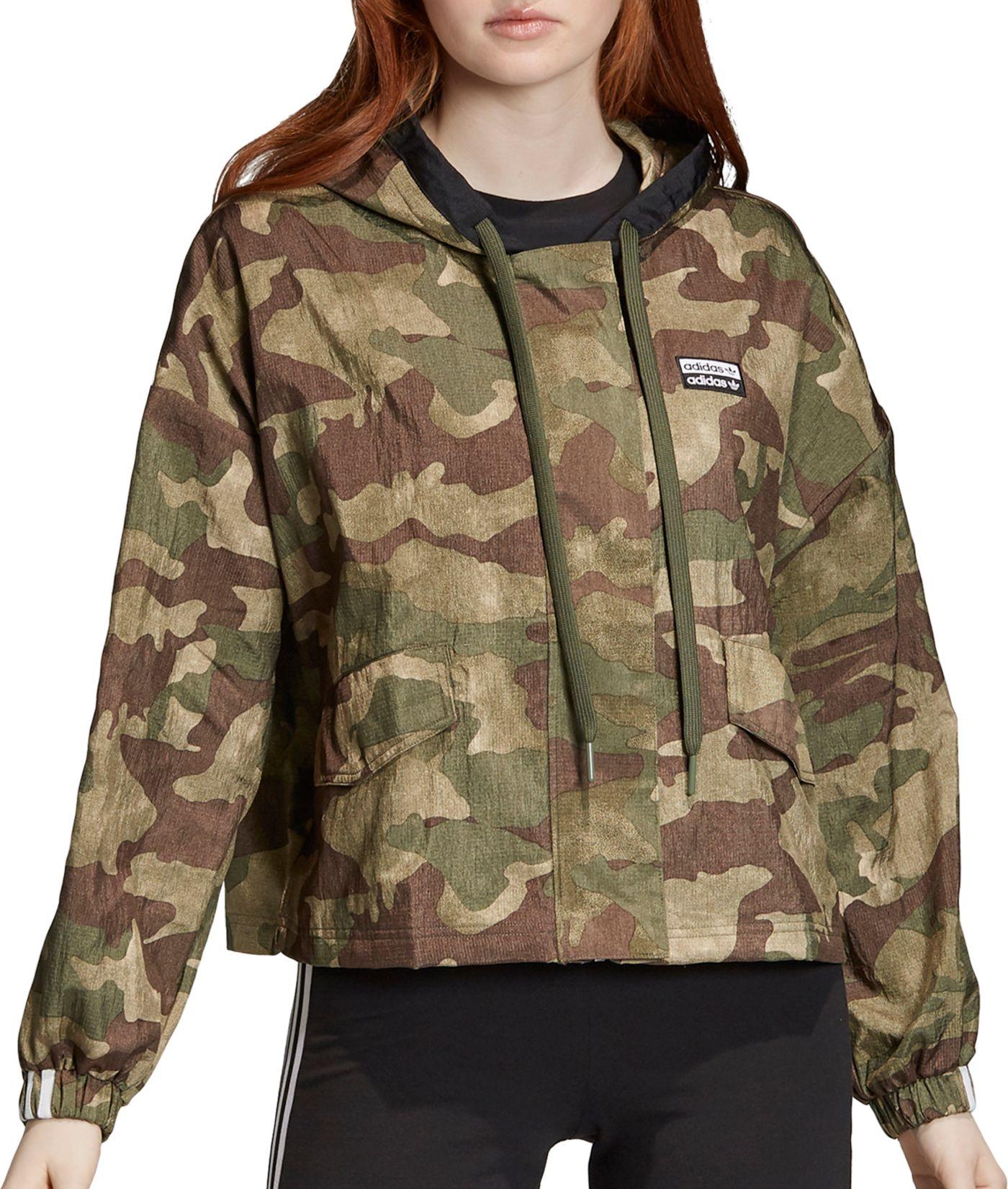 adidas Originals Women's Vocal Camo Windbreaker Jacket