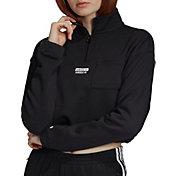 adidas Originals Women's Vocal Crop ½ Zip Pullover