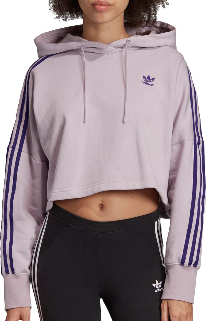 adidas Originals Women's Oversized Cropped Hoodie