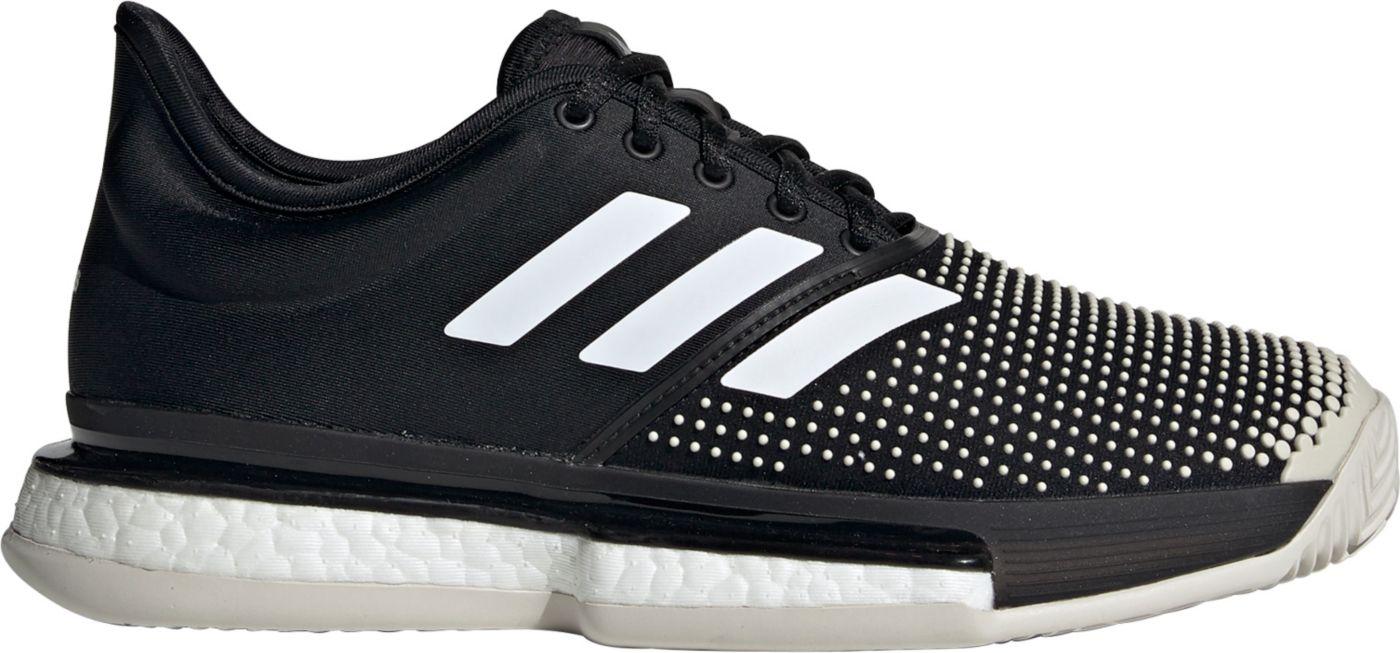 adidas Women's Solecourt Boost Clay Tennis Shoes