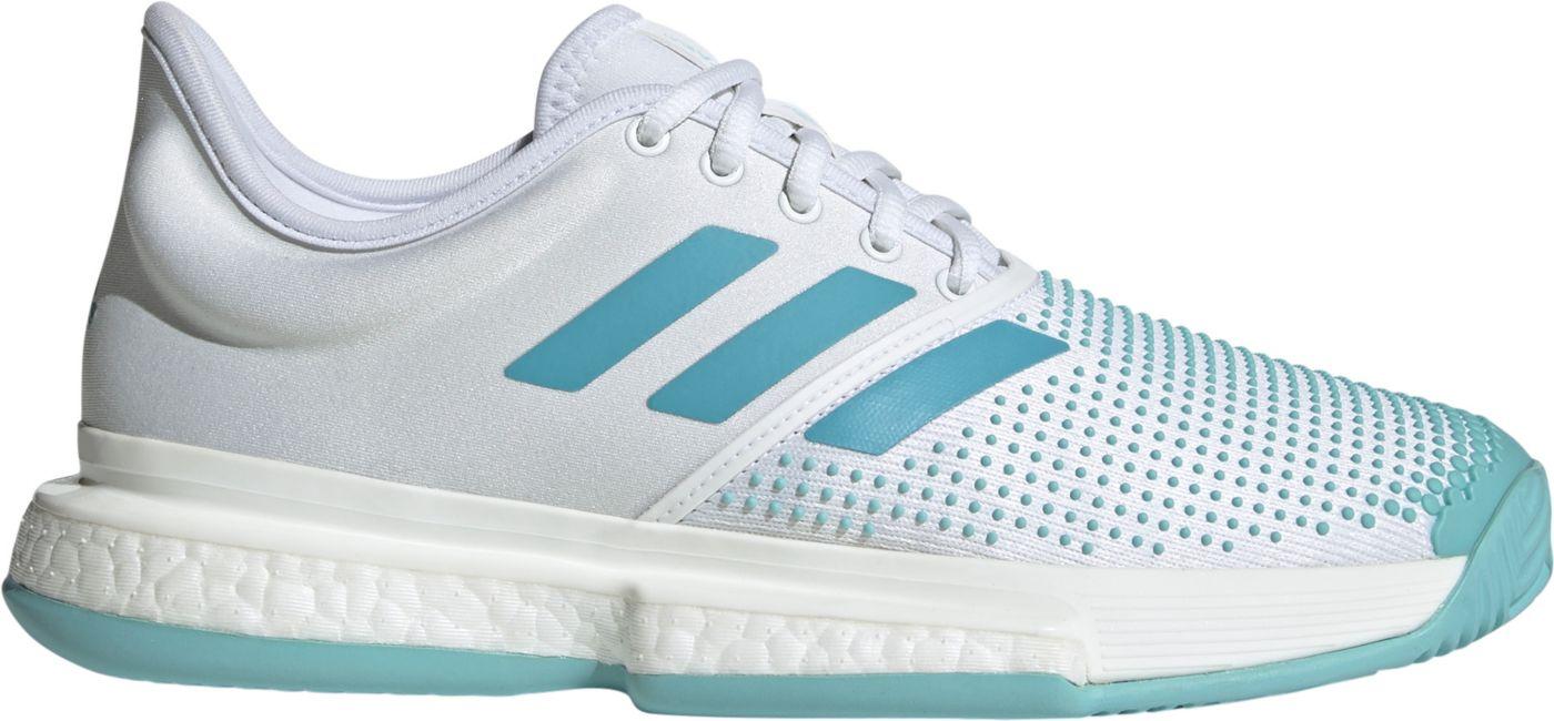 adidas Women's Solecourt Boost Parley Tennis Shoes