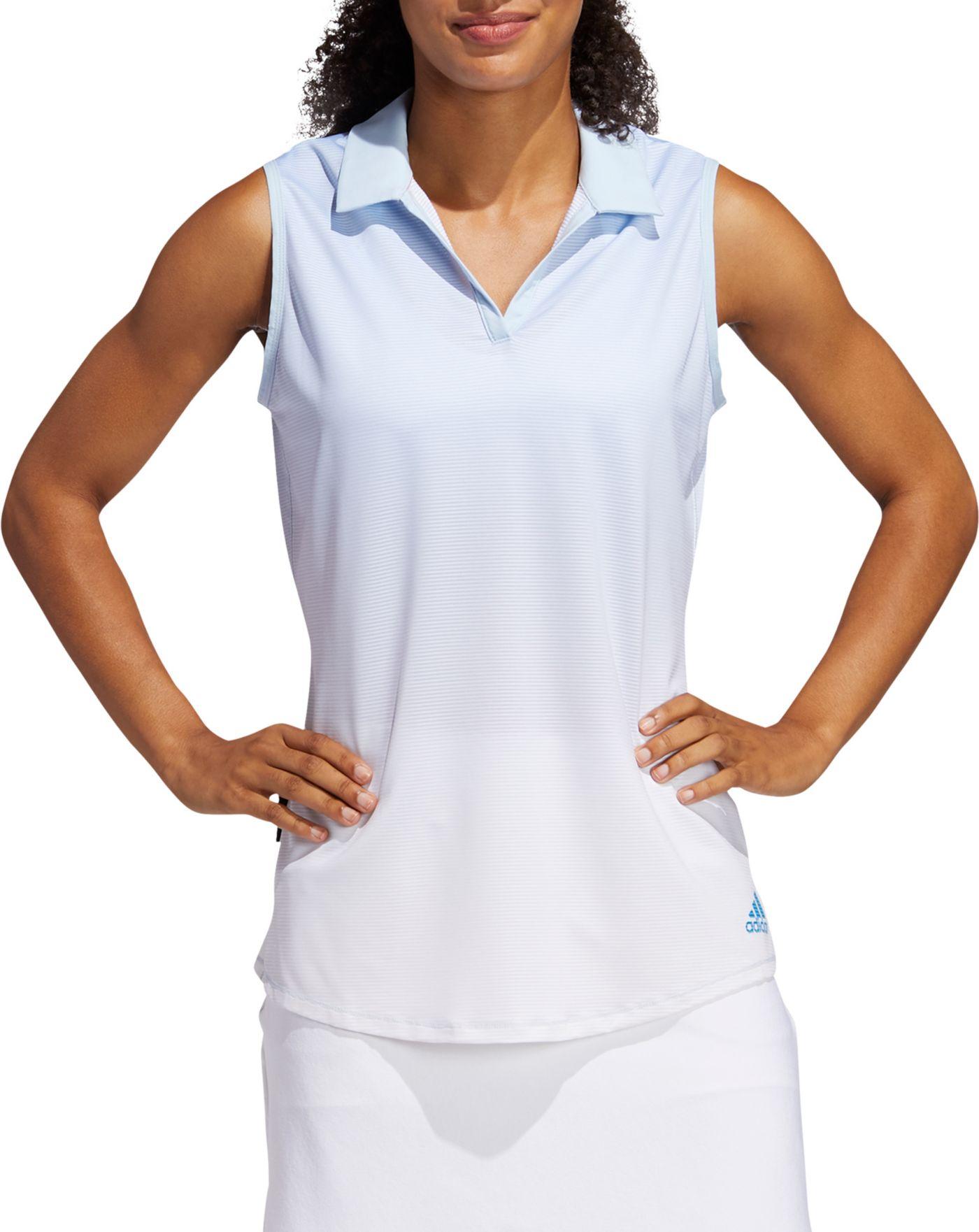 adidas Women's Sleeveless Primeblue Golf Polo