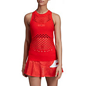 91b6c03c5cff4 Product Image · adidas Women's Stella McCartney Seamless Perforated Tennis  Tank