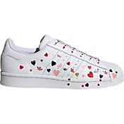 adidas Women's Superstar Heart Shoes