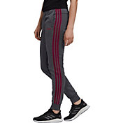 adidas Women's Essentials 3-Stripe Cotton Fleece Jogger Pants