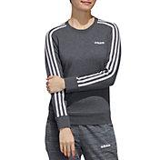 adidas Women's Essentials 3-Stripe French Terry Sweatshirt