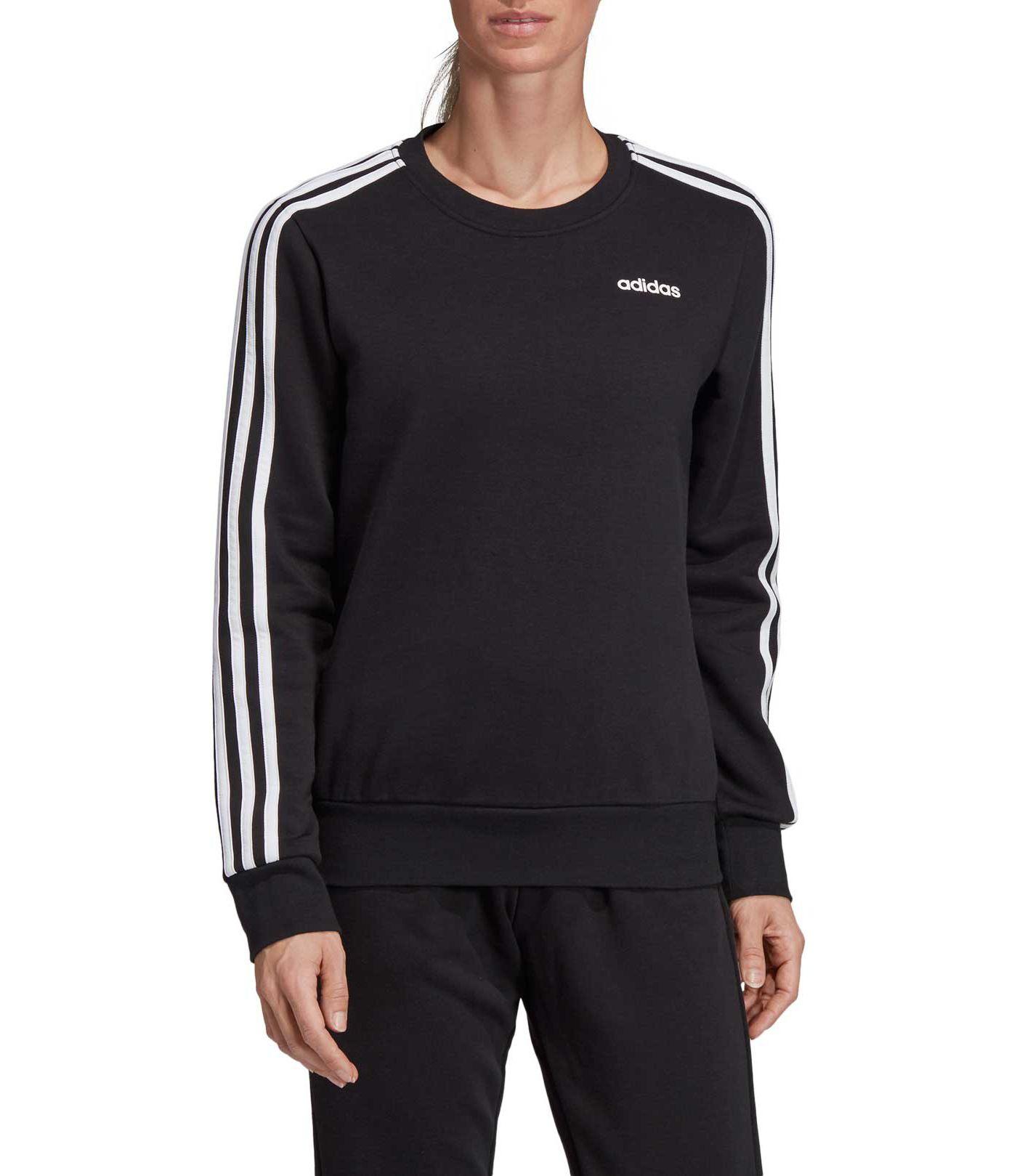 adidas Women's Essentials 3-Stripes Crew Neck Sweatshirt