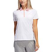 adidas Women's AEROREADY Short Sleeve Golf Polo