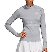 adidas Women's Stella McCartney Court Perforated Long Sleeve Tennis T-Shirt