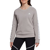 adidas Women's Tiro Tape Crewneck Sweatshirt