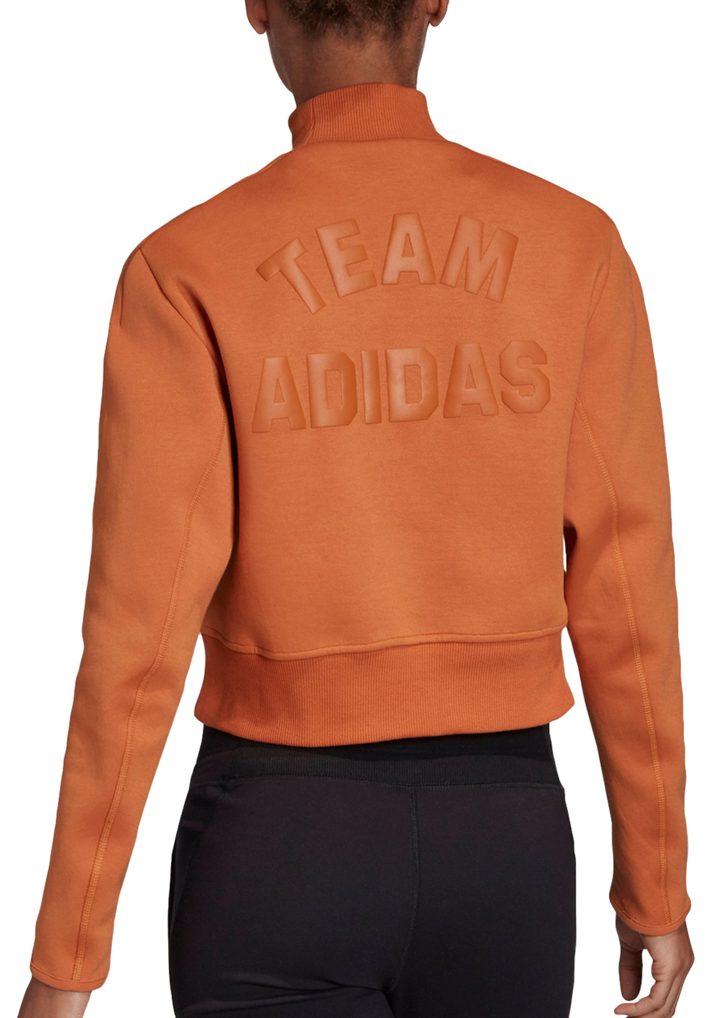 adidas Women's City Mock Neck Sweatshirt