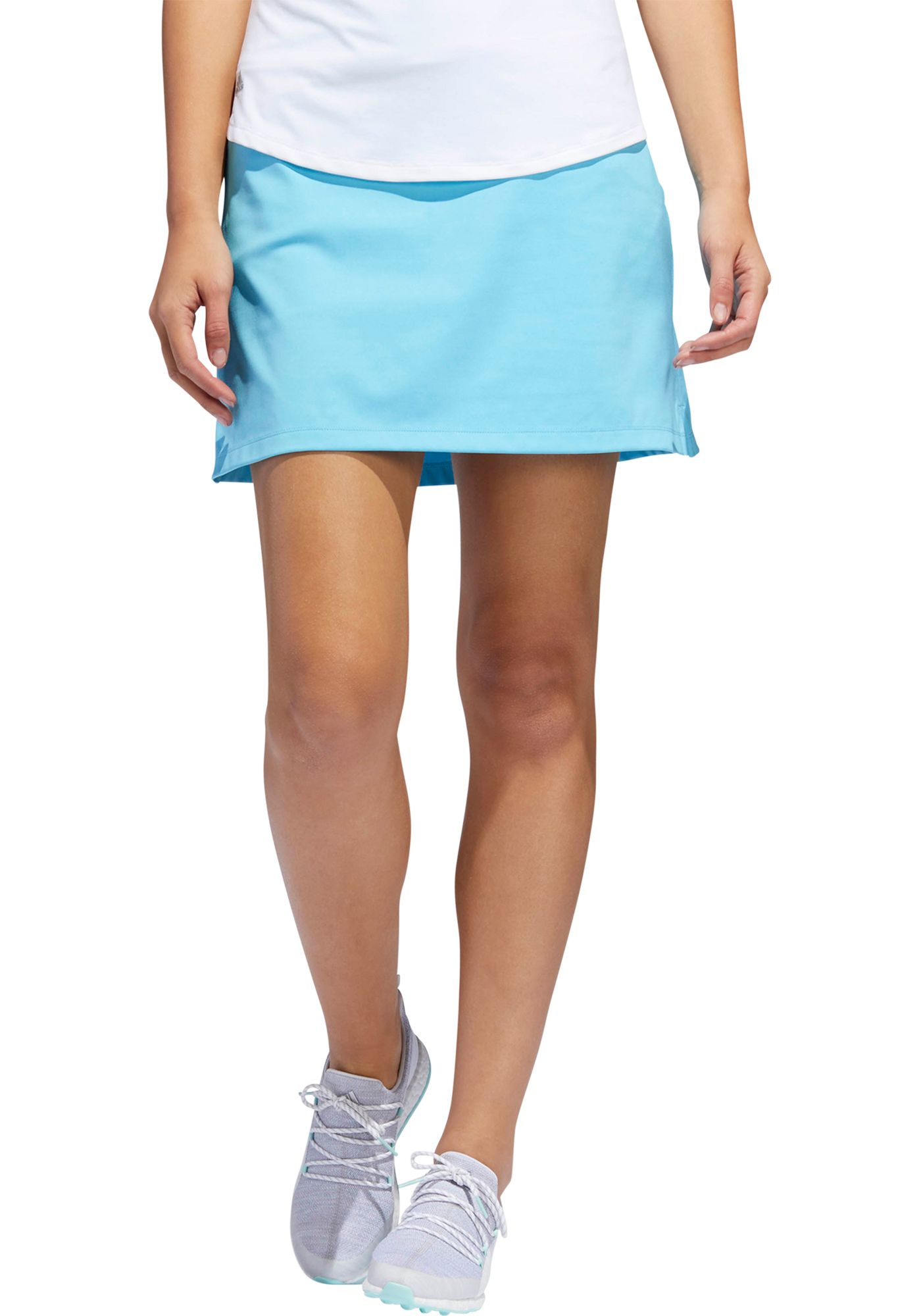 adidas Women's Ultimate Knit Heathered Golf Skort