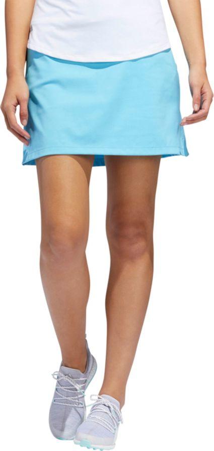 adidas Women's Ultimate Knit Heathered Golf Skort