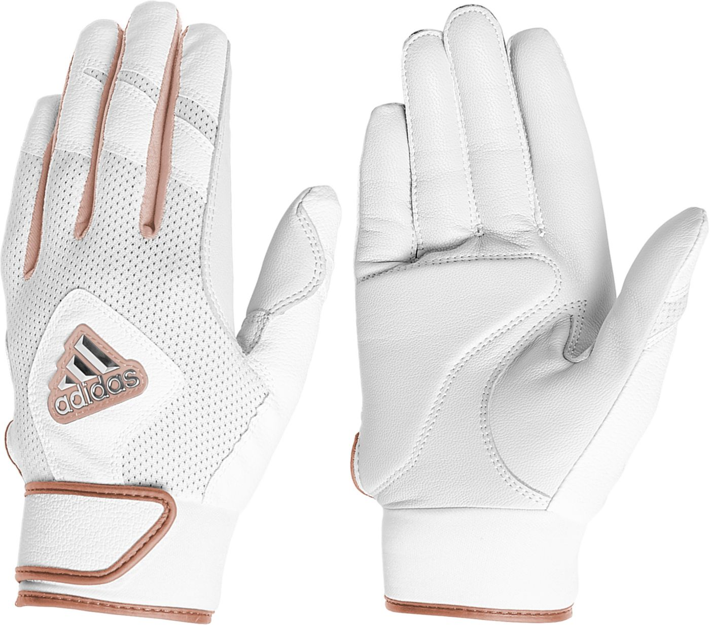 adidas Women's Fastpitch Batting Gloves 2020