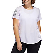 adidas Women's Plus Size Own The Run T-Shirt