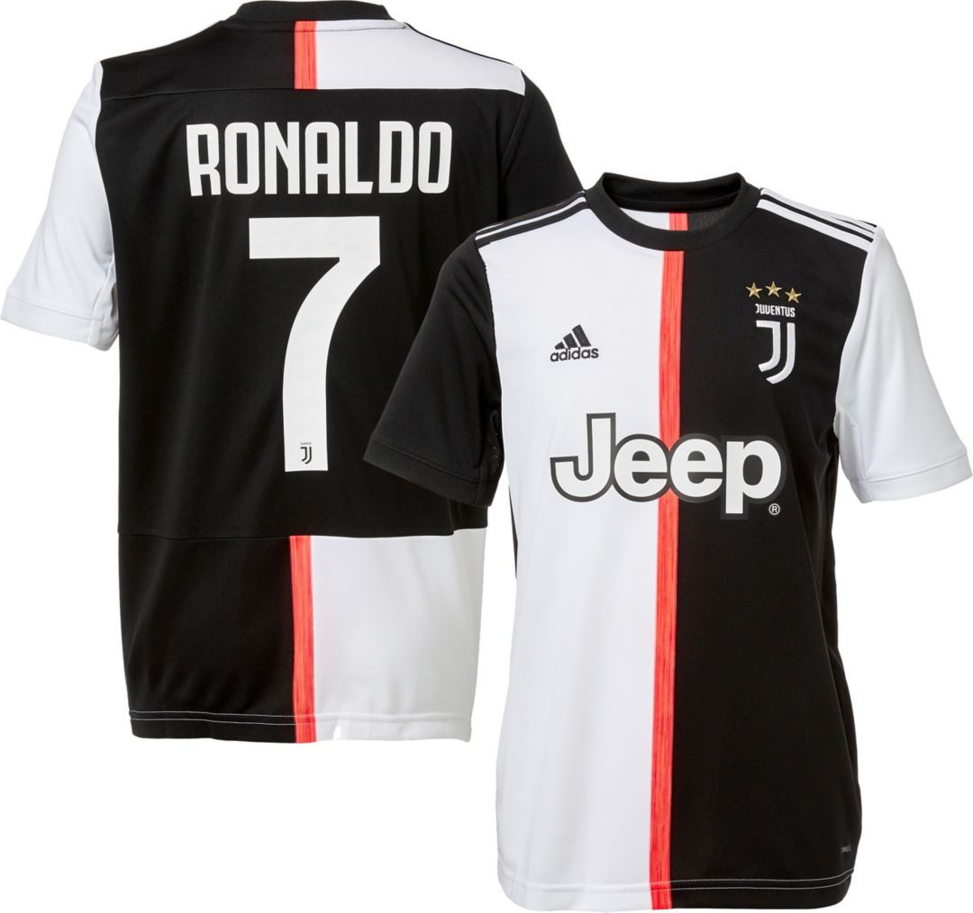 finest selection 3f08f 019c6 adidas Youth Juventus '19 Stadium Cristiano Ronaldo #7 Home Replica Jersey