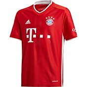 adidas Youth Bayern Munich '20 Stadium Home Replica Jersey