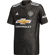 adidas Youth Manchester United '20 Away Replica Jersey