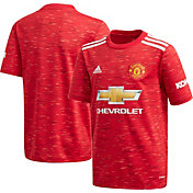 adidas Youth Manchester United '20 Home Replica Jersey
