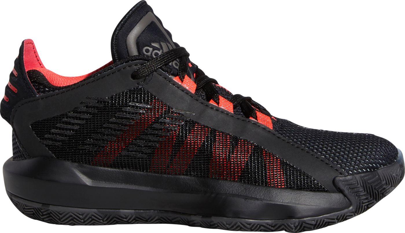 adidas Kids' Preschool Dame 6 Basketball Shoes