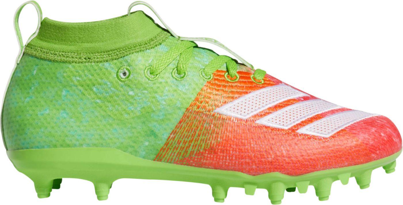 adidas Kids' adizero 8.0 Snow Cone Football Cleats